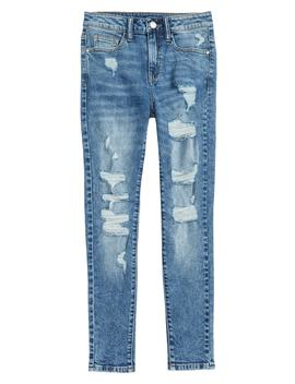 Distressed Skinny Jeans by Treasure & Bond