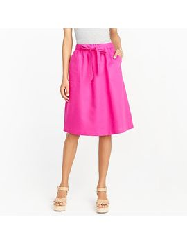 Pull On Bow Midi Skirt by J.Crew
