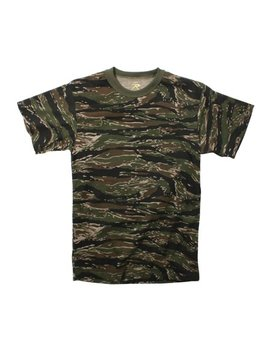 Tiger Stripe Camouflage T Shirt by Rothco
