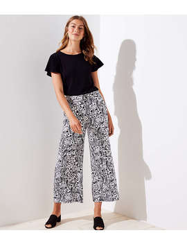 Meadow Fluid Wide Leg Pants by Loft