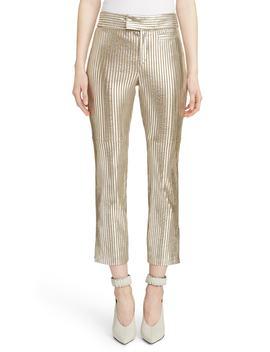 Novida Metallic Leather Pants by Isabel Marant