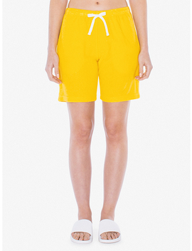 Unisex Loop Terry Lounge Short by American Apparel