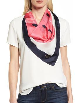 Strawberry Square Silk Scarf by Kate Spade New York