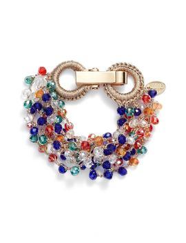 Crochet Beaded Bracelet by Stella + Ruby