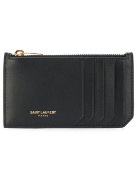 Saint Laurent Fragments Zip Pouchhome Women Accessories Wallets & Purses by Saint Laurent