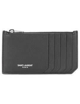 Saint Laurent'paris 5 Fragments' Zip Pouchhome Women Accessories Wallets & Purses by Saint Laurent
