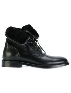 Shearling Lined Ankle Boots by Dolce & Gabbana