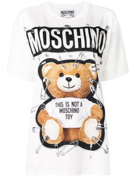 Teddy Bear Printed T Shirt by Moschino Moschino Moschino Moschino Moschino Moschino Moschino