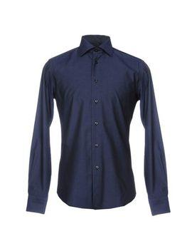 Zanetti Patterned Shirt   Shirts U by Zanetti