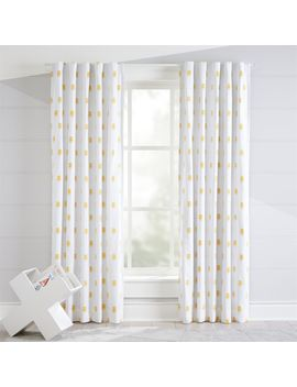 "Robot 84"" Blackout Curtain by Crate&Barrel"