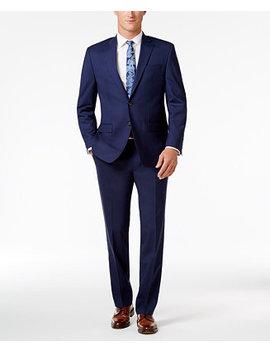 Men's Classic Fit Navy Ultra Flex Suit by Lauren Ralph Lauren