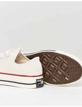 Converse Chuck Taylor All Star '70 Sneakers In Parchment by Converse