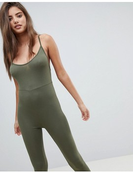 Pretty Little Thing Cami Strap Jumpsuit by Pretty Little Thing