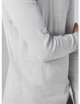Gray And White Twist Sweater by Topman