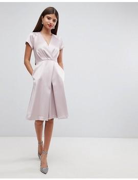 Closet London Tie Waist Dresss by Closet