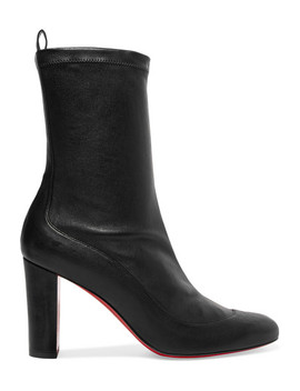 Gena 85 Leather Boots by Christian Louboutin