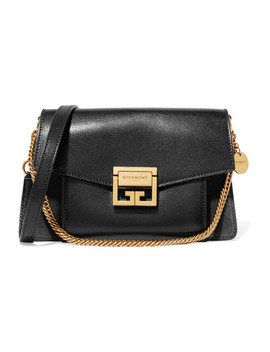 Gv3 Small Textured Leather And Suede Shoulder Bag by Givenchy