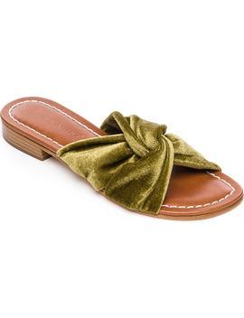 Bernardo Tiffany Knotted Slide Sandal by Bernardo Footwear