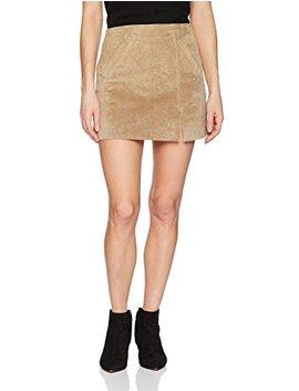 [Blanknyc] Women's Suede Mini Skirt by %5 Bblanknyc%5 D