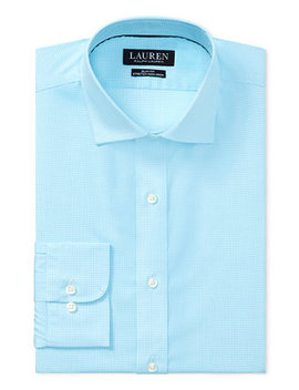 Men's Slim Fit Plaid Dress Shirt by Ralph Lauren