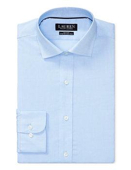 Men's Slim Fit Stretch Dress Shirt by Lauren Ralph Lauren