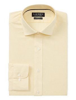 Men's Slim Fit Non Iron Dress Shirt by Lauren Ralph Lauren