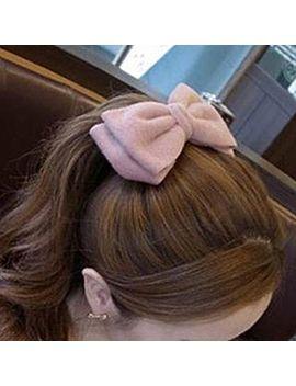 bow-hair-tie by azalea