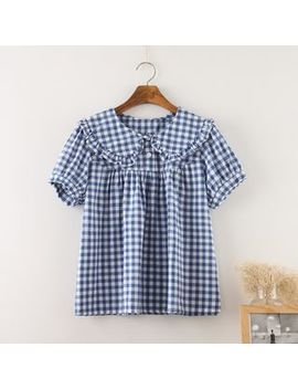peterpan-collar-blouse by pandago