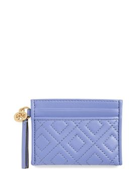 Fleming Leather Slim Card Case by Tory Burch