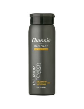 Chassis Premium Body Powder For Men, Unscented by Chassis