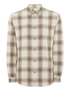 Selected Homme Gray Shadow Check Shirt by Topman