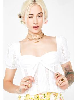 Virginia Lacey Blouse by For Love Lemons