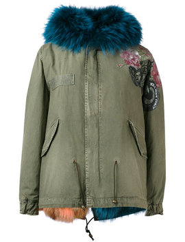Printed Mini Parka by Mr & Mrs Italy
