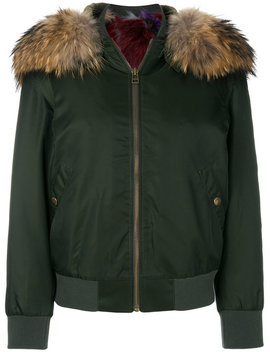 Fur Detail Jacket by Mr & Mrs Italy