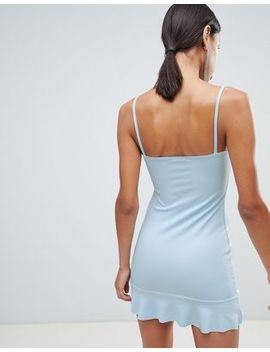 Boohoo Cami Frill Hem Dress by Boohoo
