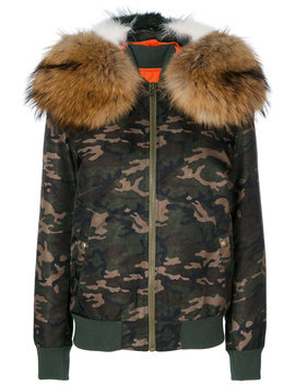 Camouflage Hooded Bomber Jacket by Mr & Mrs Italy Re/Done Mr & Mrs Italy Re/Done Mr & Mrs Italy Re/Done Mr & Mrs Italy