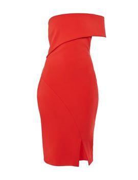 Areena One Sleeve Bardot Dress by Ted Baker