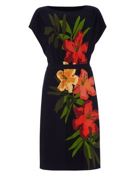 Francisco Placement Print Dress by Phase Eight