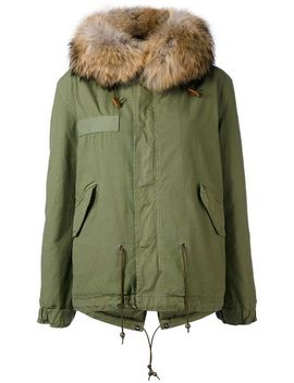 Trimmed Hood Short Parka by Mr & Mrs Italy Current/Elliott Mr & Mrs Italy Current/Elliott Mr & Mrs Italy Current/Elliott Mr & Mrs Italy