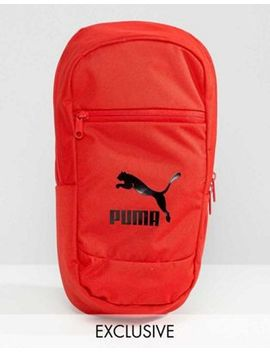 Puma Exclusive Cross Body Bag In Red by Puma