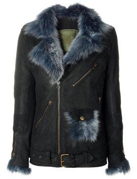 Multiple Zips Biker Jacket by Mr & Mrs Italy Re/Done Mr & Mrs Italy Re/Done Mr & Mrs Italy Re/Done Mr & Mrs Italy