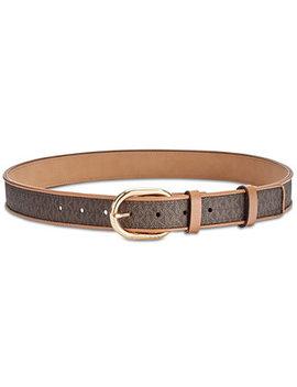 Signature Belt by Michael Michael Kors