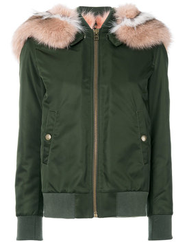 Fur Lining Bomber Jacket by Mr & Mrs Italy