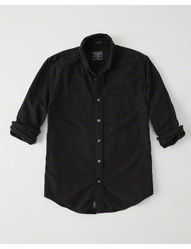 Relaxed Oxford Shirt by Abercrombie & Fitch