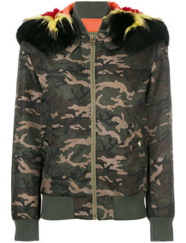 Camouflage Bomber Jacket by Mr & Mrs Italy