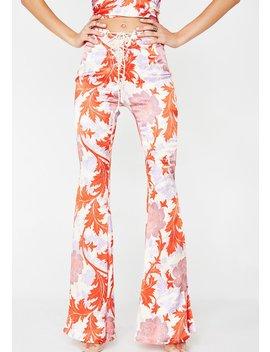 Anemone Pink Jimi Pants by Lenni The Label