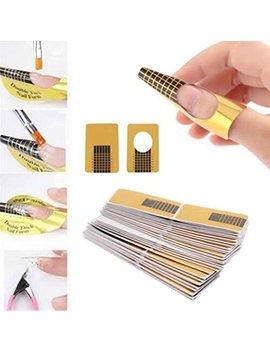 Lookatool 10 Pc Plastic Nail Art Soak Off Cap Clip Uv Gel Polish Remover Wrap Tool by Lookatool