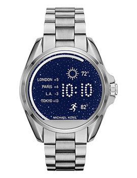 Access Women's Digital Bradshaw Stainless Steel Bracelet Smart Watch 45mm Mkt5012 by Michael Kors