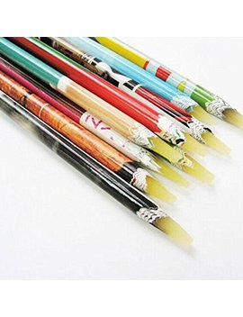 Fanmuran Rhinestones Picker Pencil Tool Wax Colorful Pen by Fanmuran