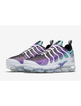 Nike Air Vapor Max Plus Grape White Fierce Purple Green 924453 101 Size 8 10 by Nike